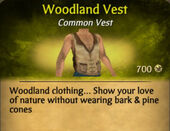 Woodland Vest