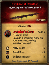 Lost Blade of Leviathan