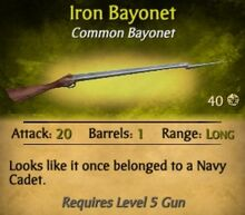Iron Bayonet