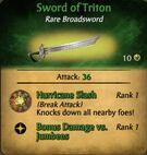 Sword of Triton
