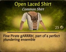 OpenLacedShirt