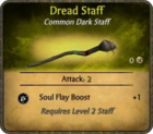 Dread Staff Card