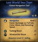 Lost World Sea Chart