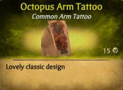 Octopus Arm Tattoo (Redeem Code)