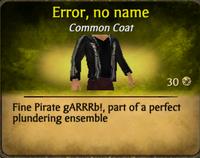 Error, no name