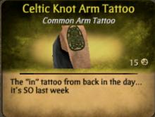 Celtic Knot Arm Tattoo