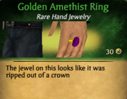 GoldenAmethistRing