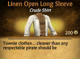 Line Open Long Sleeve
