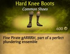 F Hard Knee Boots