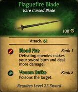Plaguefire Blade