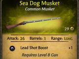 Sea Dog Musket