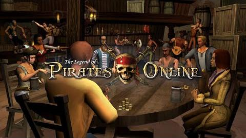 The Legend of Pirates Online- Developer Preview - Blackjack!