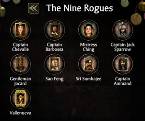 The nine rogues