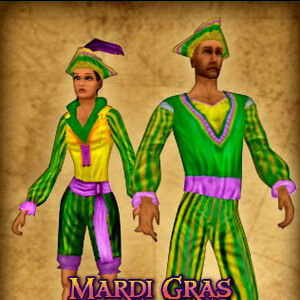 Mardi Gras Outfit Pirates Online Wiki Fandom