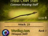 Tribal Chief Staff
