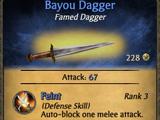 Bayou Dagger