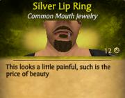 SilverLipRing