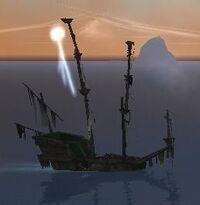 Skeleton War Frigate