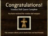 Weapon Unlock: Voodoo Doll