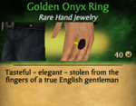 GoldenOnyxRing
