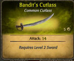 Bandit's Cutlass