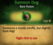 Summon Dog