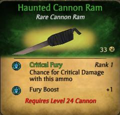 Haunted ram clearer