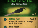 Haunted Cannon Ram