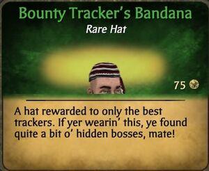 Bounty Tracker's Bandana 2