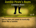 Pirate zombie boots female