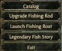 Fishingmenu