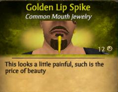GoldenLipSpike