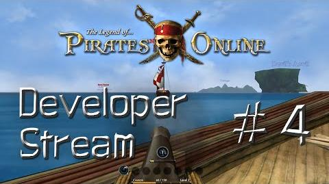 The Legend of Pirates Online Developer Stream -4- Enemies at Sea, Tailors, New Cutscenes and More!