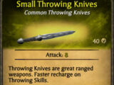 Small Throwing Knives