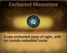 Enchanted Moonstone Card