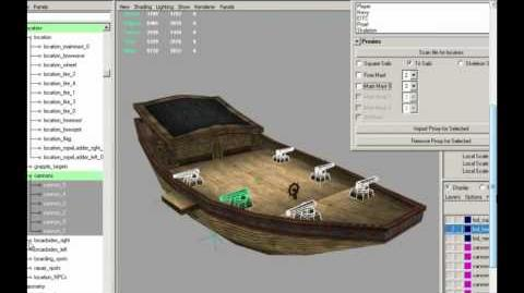 PotCO Development Insider Andrew Kelts, Maya Modeling