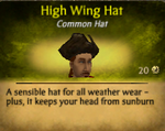 M High Wing Hat
