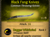 Black Fang Knives