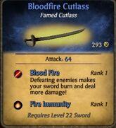 BloodfireCutlass