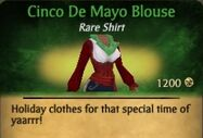 Cinco De Mayo Blouse