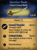 Nautilus Blade