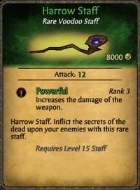Harrow Staff Card