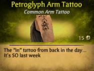 Petroglyph ArmTattoo
