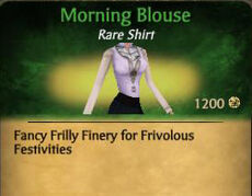 F Morning Blouse