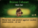 Bronze Cabaset