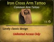 Iron Cross Discontinued