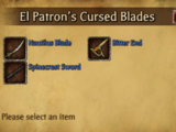 Cursed Blades of El Patron
