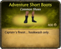 Adventure Short Boots Card