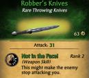 Robber's Knives