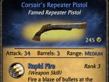 Corsair's Repeater Pistol